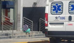 Huancayo: hombre de 60 años muere al interior de un banco