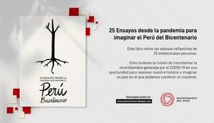 Publican libro sobre la pandemia en un Perú bicentenario