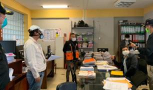 Municipalidad de Comas fue intervenida por Ministerio Público