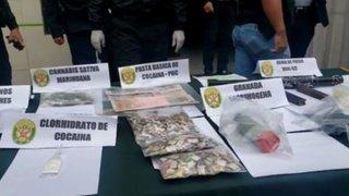 Comas: Policía desarticuló a banda de microcomercializadores de droga