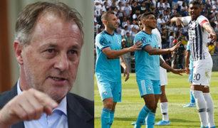 """Jorge Muñoz: """"No es el mejor momento para el reinicio del Fútbol"""""""