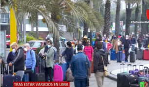 Coronavirus: 300 pasajeros europeos y peruanos tomaron un vuelo de regreso