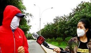 Pequeño aire de libertad: los deportes liberados en cuarentena