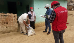 Covid-19: Contraloría supervisa entrega de canastas a familias vulnerables de Piura