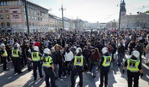 Protestas contra el racismo y la violencia policial remecen Europa