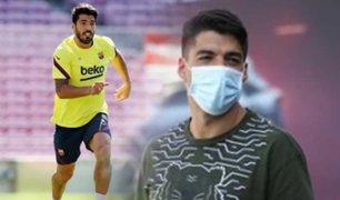 Barcelona: Luis Suárez recibió el alta médica