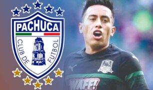 México: el club Pachuca confirmó que Christian Cueva no seguirá