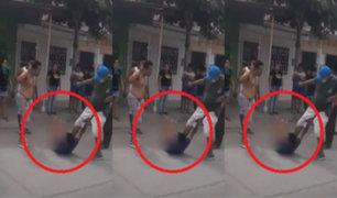 Tumbes: capturan, golpean y desnudan a ladrón en plena calle