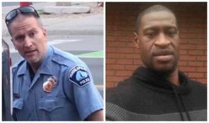 George Floyd: fijan en US$ 1,25 millones la fianza para policía que asesinó a afroestadounidense
