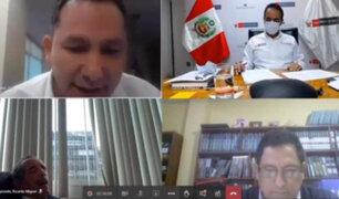 Congresista de Acción Popular se quedó dormido en plena sesión virtual de Comisión de Defensa