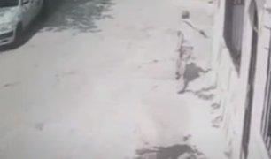 SJL: sicarios intentan asesinar a un hombre de ocho balazos