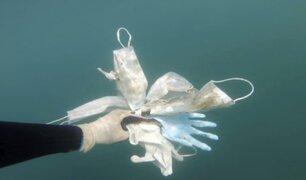 Francia: más guantes y mascarillas continúan apareciendo el mar Mediterráneo