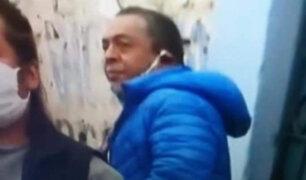 Identifican a sujeto que tosió a reportera durante transmisión en vivo en La Victoria