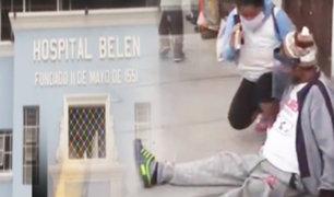 "Trujillo: pacientes denuncian que colapsó el hospital ""Belén"""