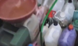 Comas: elaboran productos de limpieza en ollas de cocina