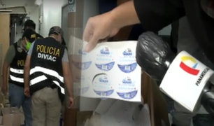 Los Olivos: intervienen dos laboratorios clandestinos donde adulteraban alcohol en gel