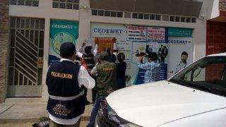 Chiclayo: intervienen clínica que realizaba pruebas de descarte de coronavirus