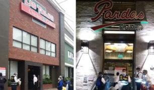 La Molina: clausuran Pardos Chicken y Las Tinajas por insalubridad e irregularidades