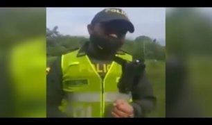 Colombia: policía se negó a participar de desalojo de familias en plena pandemia