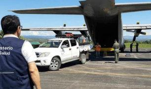 Trasladan más de 160 balones de oxígeno a hospital de Loreto para pacientes covid-19