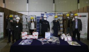 Empresas privadas donan medicamentos e implementos de protección personal al Minsa y EsSalud