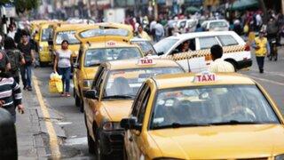 Días 24, 25, 31 de diciembre y 1 de enero solo circularán taxis con autorización de la ATU