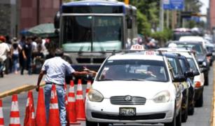 Ejecutivo observó Ley que formaliza los taxis colectivos