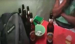 Chiclayo: Policía interviene bar que funcionaba bajo la fachada de tienda de abarrotes