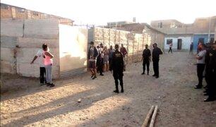 Piura: desalojan a cerca de 50 invasores de terreno municipal en Paita