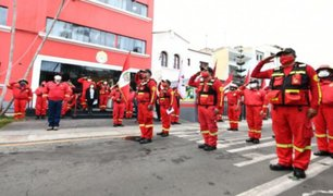 Más de 100 bomberos que vencieron a la COVID-19 retornaron a sus labores