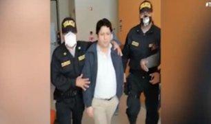 Jesus María: detienen a exgobernador de Pasco acusado de corrupción