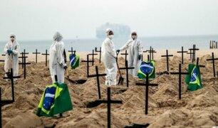 Brasil: cientos de tumbas fueron cavadas en playa de Copacabana