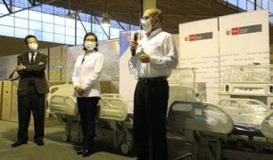Comunidad religiosa dona equipos médicos para lucha contra el Covid-19