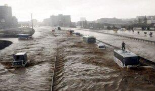 Inundaciones dejan un fallecido y varios daños materiales en Turquía