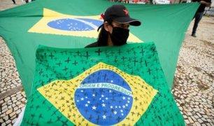 Brasil ya es el segundo país del mundo con más fallecidos por COVID-19