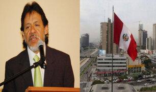 César Gutiérrez: No podemos dejar que el tema económico caiga en el desmanejo