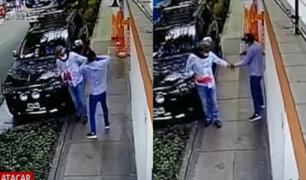 """San Isidro: Captan robando a """"Los Malditos del Rolex"""""""
