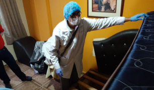 SMP: realizan operativo contra hostales que atendían pese a cuarentena