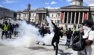 Violentas protestas antirracistas se registraron en Reino Unido y Francia