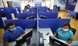 EsSalud recibió más de 400 mil llamadas en 3 meses de funcionamiento de la línea 107