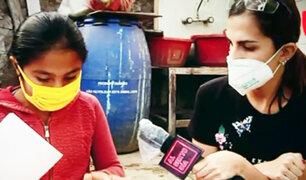 """Conozca a la """"Jefecita"""" de las ollas comunes más pequeña del Perú"""