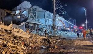 China: 19 muertos y 172 heridos deja explosión de un camión cargado de gas