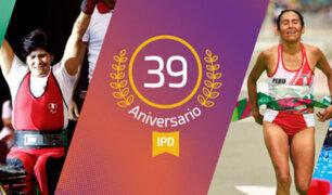 El IPD cumple 39 años de  vida institucional