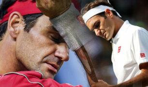 Roger Federer confirmó que no jugará hasta 2021 por operación a una rodilla