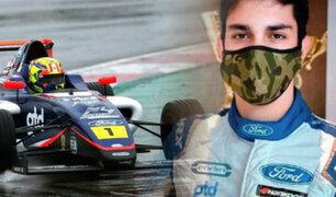 automovilismo peruano: Matías Zagazeta entrena para su debut en la F4 Británica
