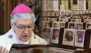 Catedral de Lima: Misa en memoria de los fallecidos por coronavirus