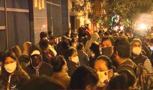 Sin control: ambulantes regresan a la avenida Grau y generan caos vehicular