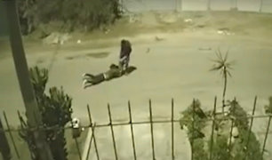 Chorrillos: ladrón aplasta las manos de una mujer para robarle