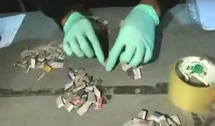 El Agustino: intervienen vivienda que comercializaban droga 'Tusi'