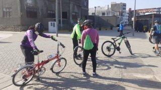 Chiclayo: ciudadanos retoman actividades deportivas en playas de Pimentel